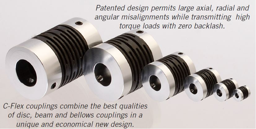 Steel Couplers With Witness Holes : Couplings c flex bearing co inc